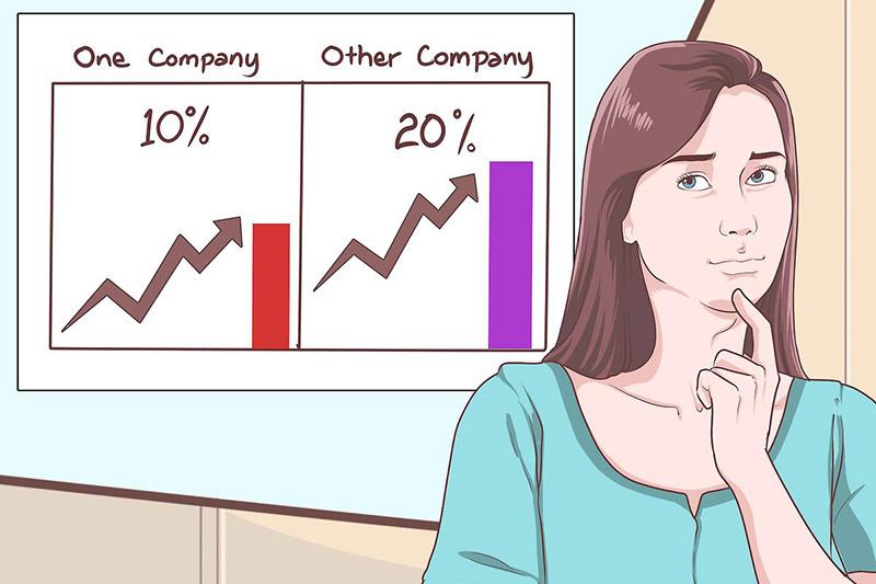 Tính lãi gộp có thể so sánh với đối thủ cùng ngành