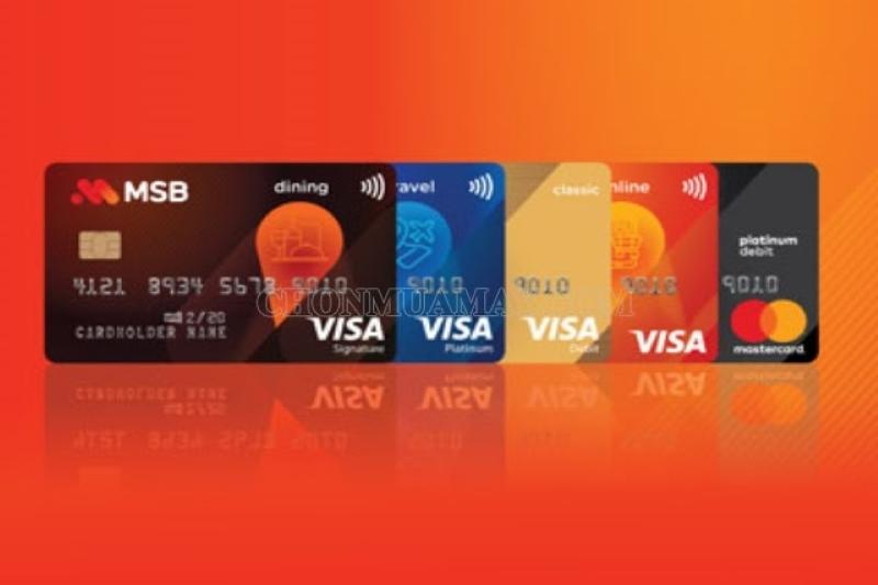 MSB cung cấp nhiều sản phẩm và dịch vụ