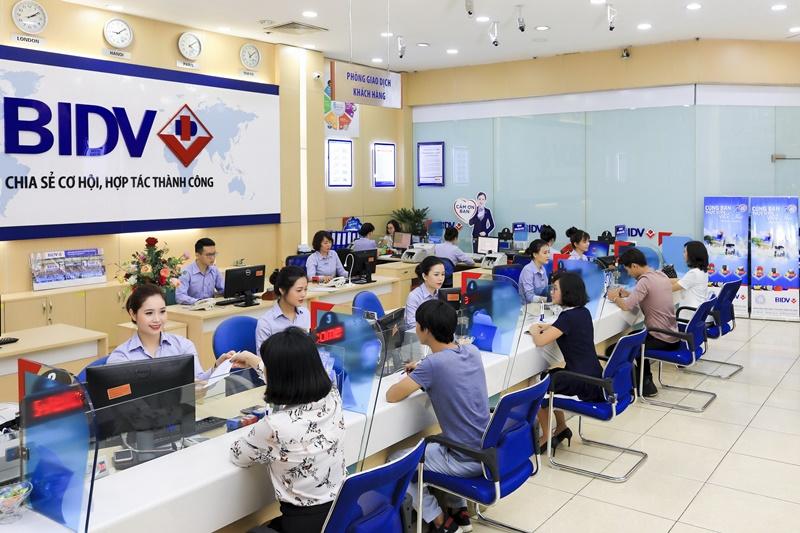 Ngân hàng BIDV cung cấp đa dạng các sản phẩm dịch vụ