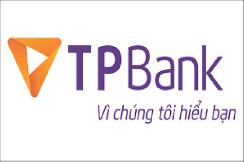 """Slogan """"Vì chúng tôi hiểu bạn"""" trên logo Ngân hàng Tiên Phong"""