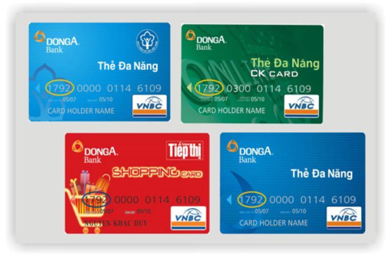 Ngân hàng Đông Á phát hành đa dạng các loại thẻ